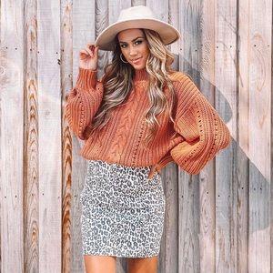 NWT Vici knit sweater